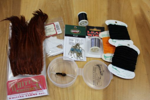 Bitch Creek fly tying kit