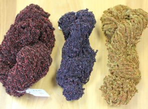 Crystal tinsel skeins