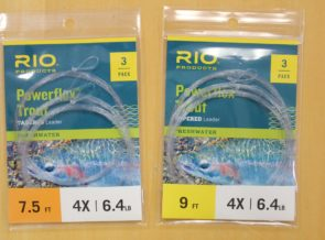 Rio Powerflex Trout Tapered Leaders 3-pack