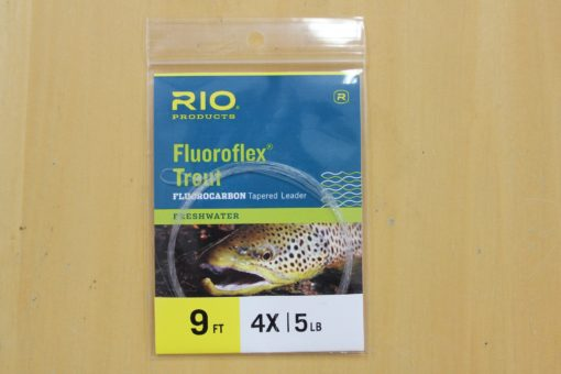 Rio Fluoroflex Trout Fluorocarbon Tapered Leaders