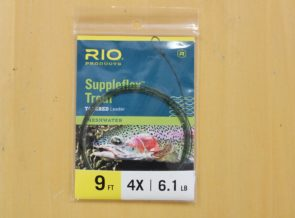 Rio Suppleflex Trout Tapered Leaders