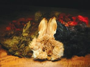 Natural and Dyed Hares Mask Grade #1
