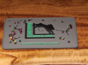 Hareline Silicone Hook and Bead Pad