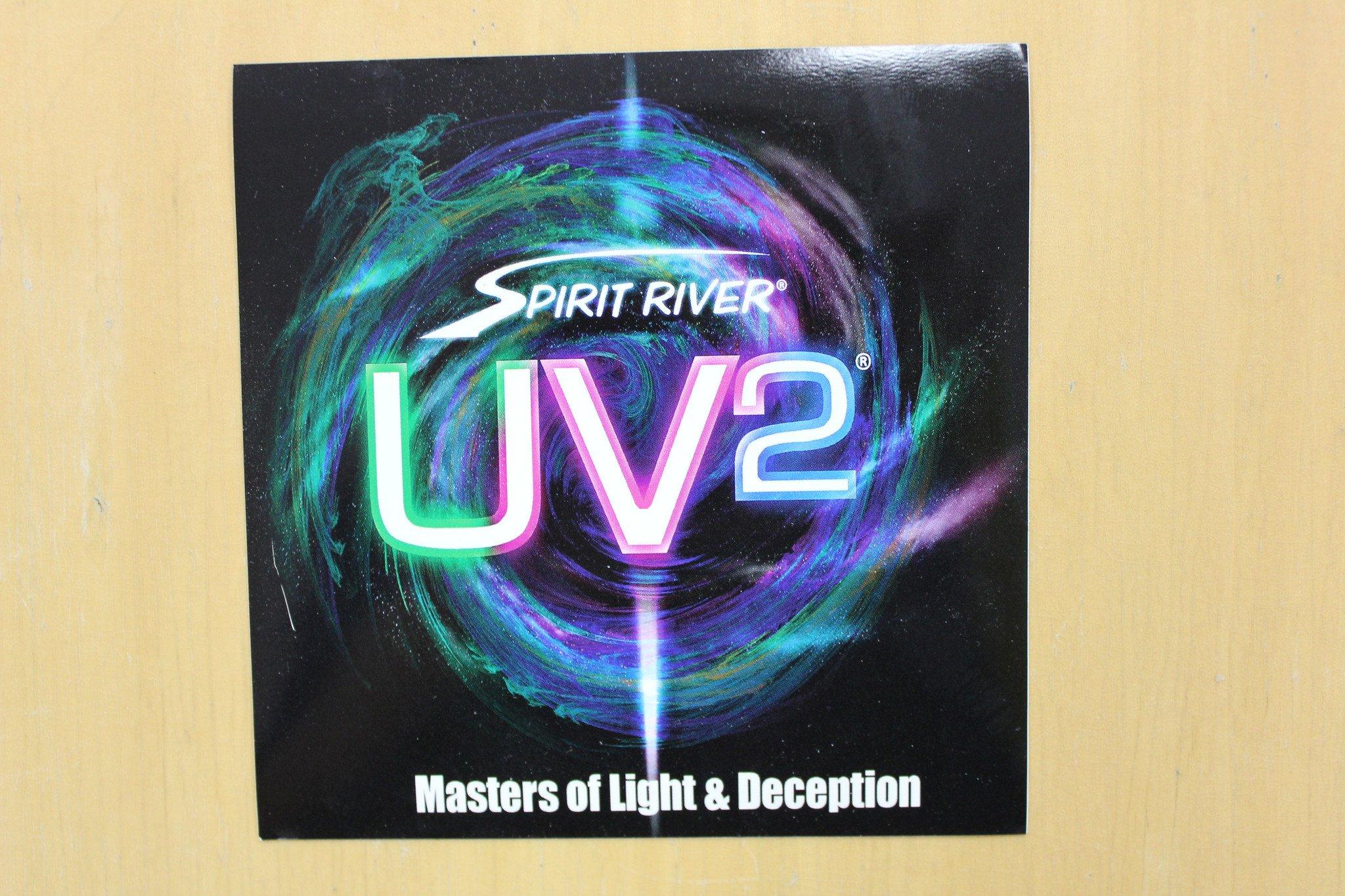 UV2 Fusion Blood Drop Egg Beads