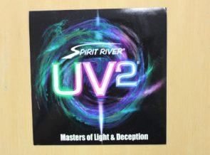 UV2 Iridescent Dyed Peacock Eyes