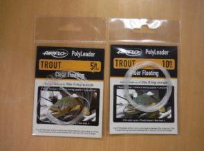 Airflo Floating Polyleaders trout