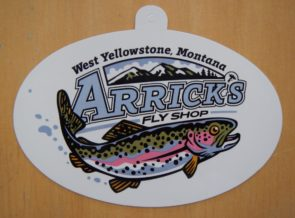 Arrick's Fly Shop decal