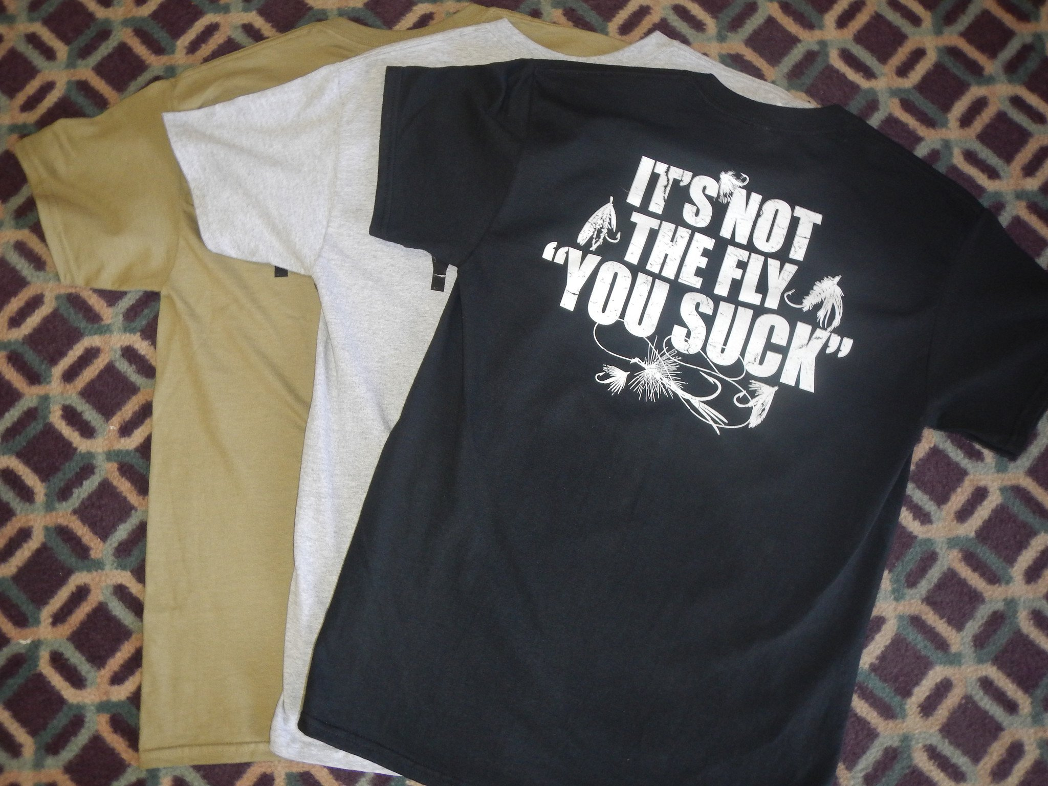 """It's Not the Fly """"You Suck"""" t-shirt"""