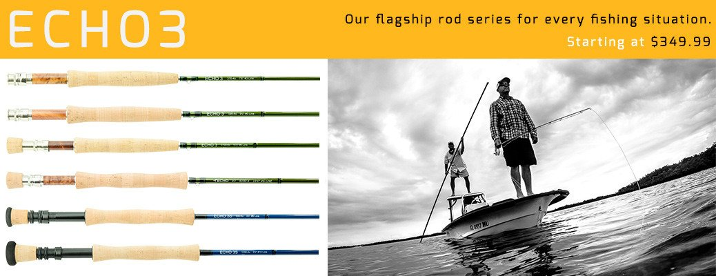 Echo 3 Saltwater Fly Rods