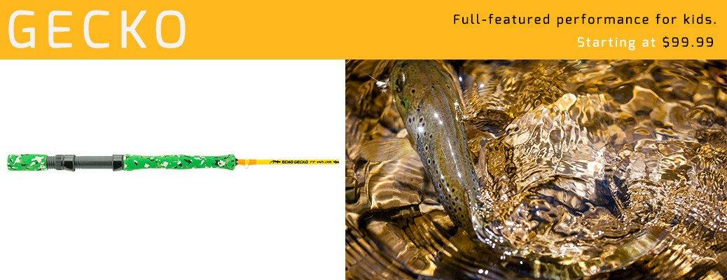 Echo Gecko Fly Rod