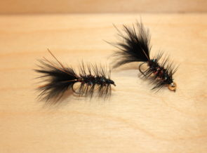 red rainbow woolly bugger