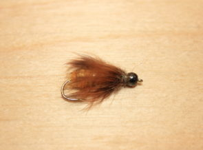 BH october caddis pupa